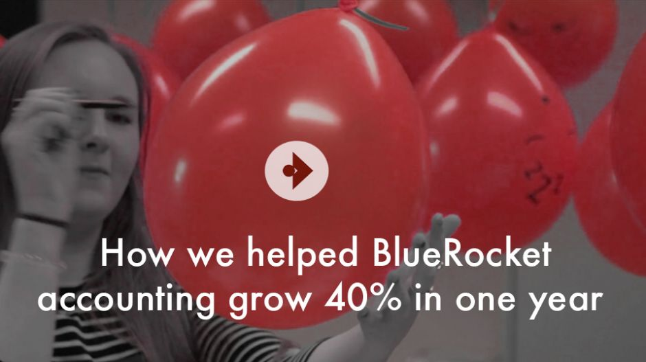 How we helped BlueRocket Accounting grow 40% in one year