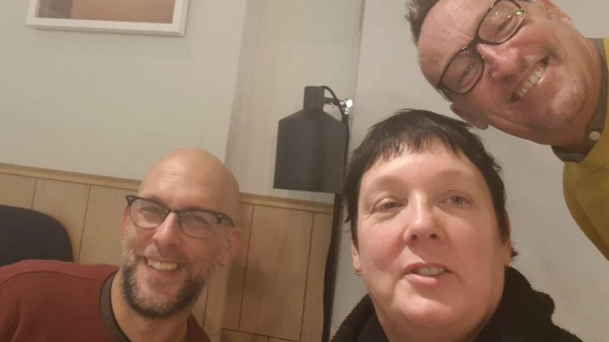 Three strangers walked into a bar