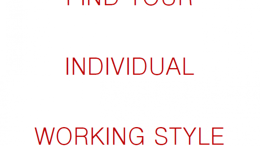 Find your Individual Working Style – Questionnaire